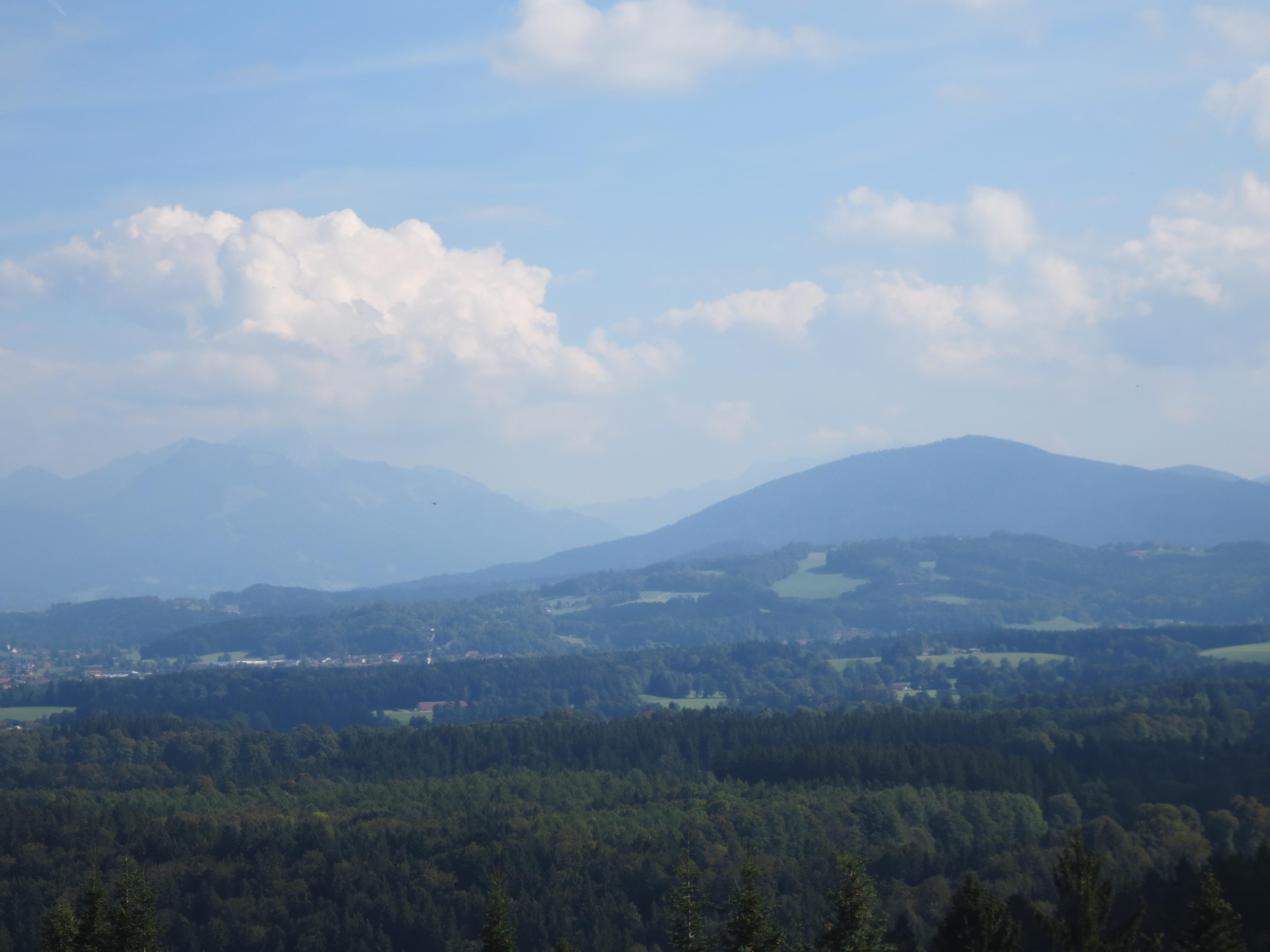 Wanderung auf dem Taubenberg und Bergmesse