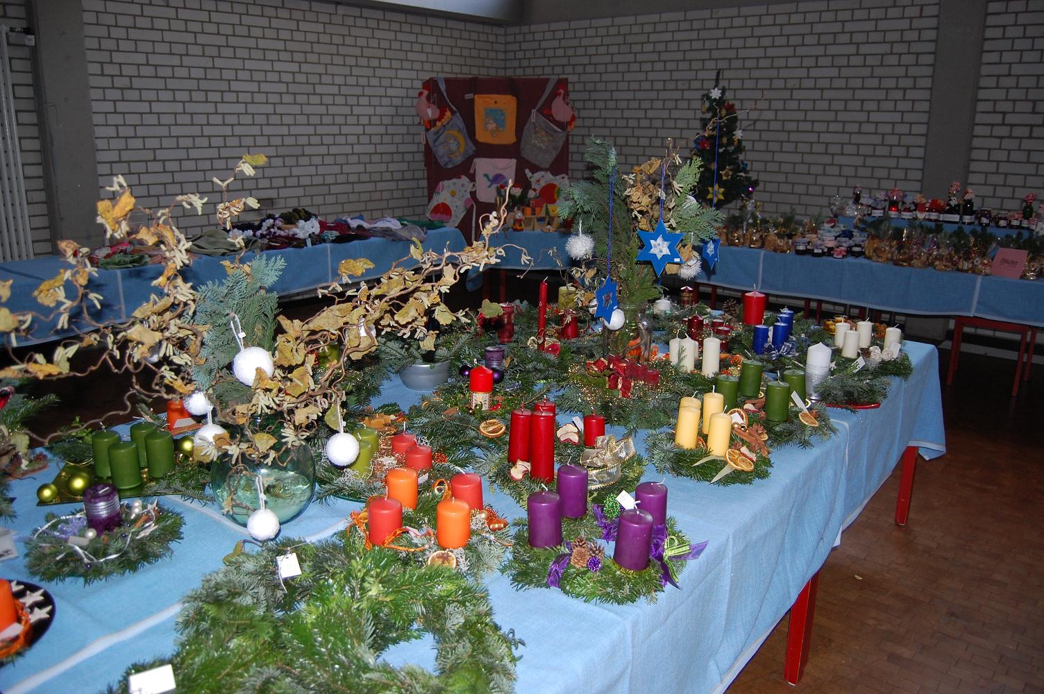 Basteln für den Adventsbasar