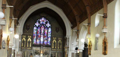 Ich gehe in Dublin in den Gottesdienst