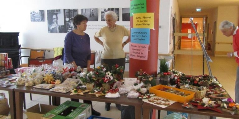 """Vorweihnachtlicher Markt im """"Effnerheim"""""""