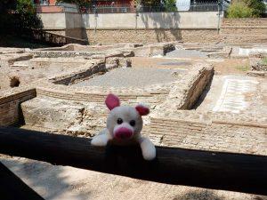 Paul Patrick auf der Via Appia