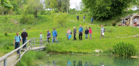 Wanderung des Familienkreises St. Thomas nach Wessobrunn