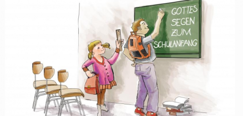 Gottes Segen zum Schuleintritt