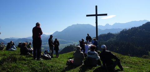 Bergmesse am Hocheck bei Oberaudorf