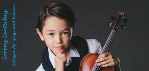 Konzert für Violine und Klavier in St. Lorenz