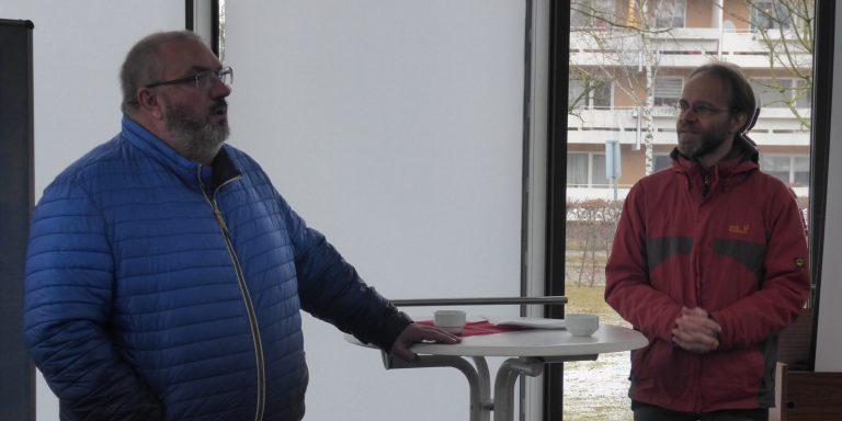 Pater Nikolai zu Besuch in St. Thomas