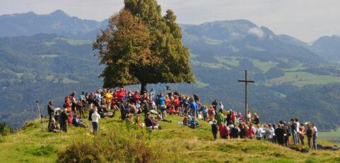 Bergmesse am Hocheck/Oberaudorf