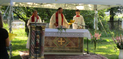 Gottesdienst im Freien zum Laurentius-Fest