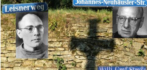 Gesichter hinter unseren Straßennamen – Widerstand aus dem Glauben in der NS-Zeit