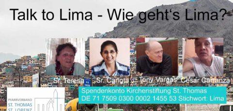Talk to Lima – Wie geht's Lima?