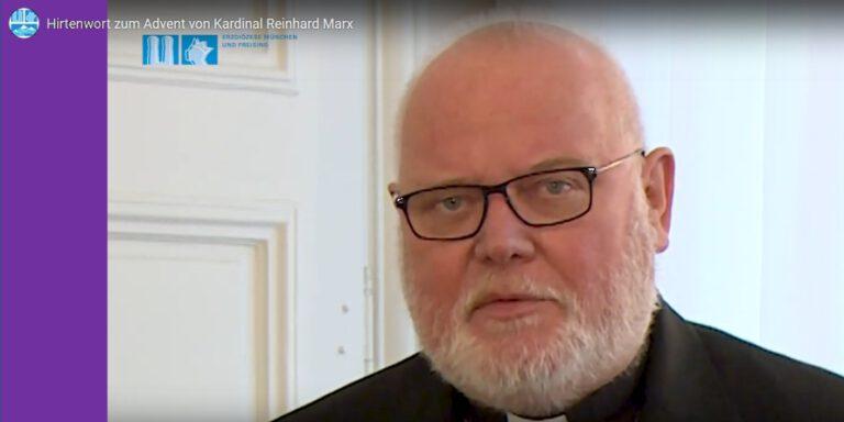 Hirtenwort von Kardinal Marx zur Fastenzeit 2021