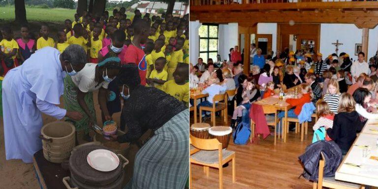 Corona bedingt angesagt – Corona bedingt abgesagt:  Unterstützung für Nigeria ohne Afrika-Fest und Christkindlmarkt