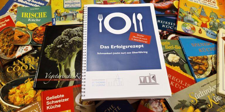 """Das Erfolgsrezept"" – Kochbuch der ökumenischen Bücherei ist fast fertig"