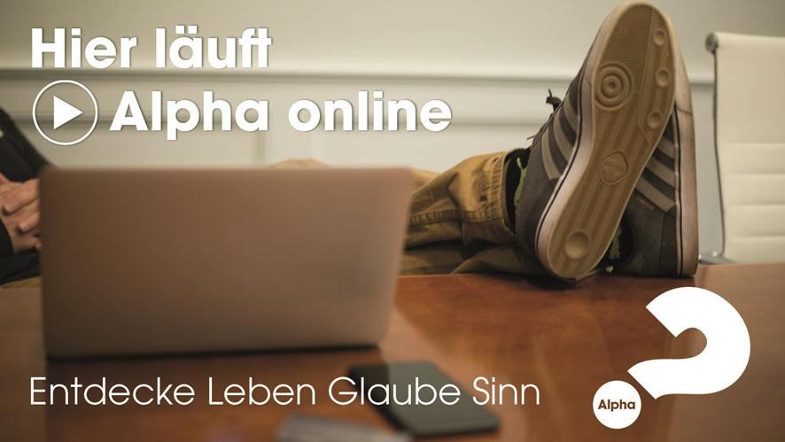 Alpha läuft online